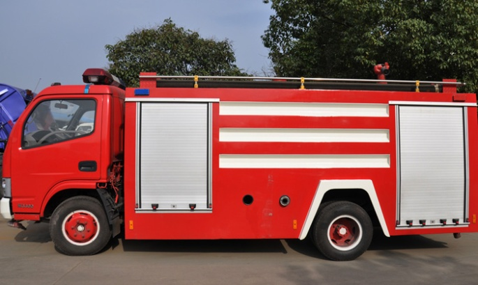 DFAC 2CBM Fire Fighting Truck