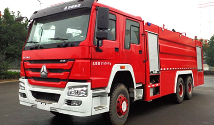 HOWO 16CBM Fire Fighting Truck