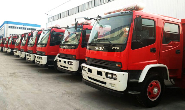 ISUZU Foam Fire Fighting Truck