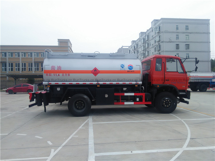 Dongfeng 10000L Fuel Truck oil tank truck