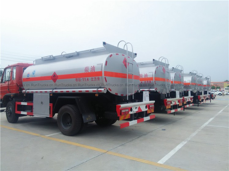 Dongfeng 145 Fuel Truck oil tank truck