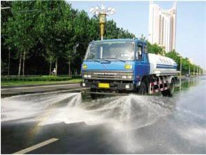 145 water truck back spray