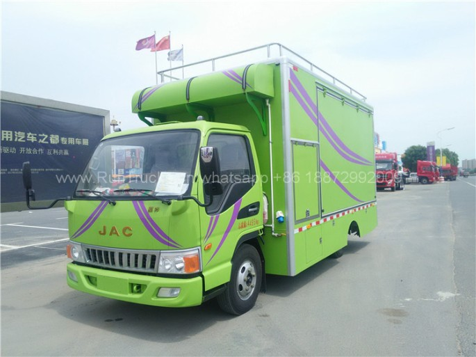 China JAC mobile food vehicle for mobile canteen 03.jpg