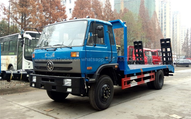 Dongfeng 15T flat bed truck 05.jpg