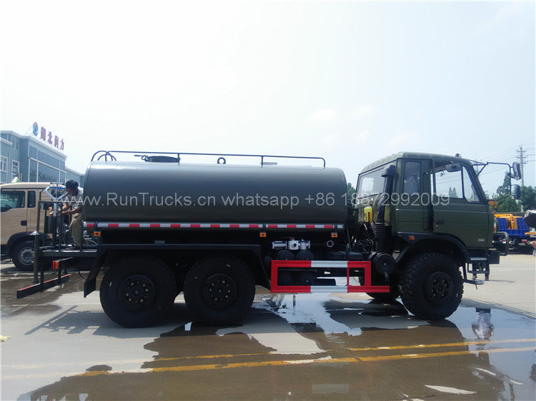 Dongfeng all wheel drive water truck for military 07