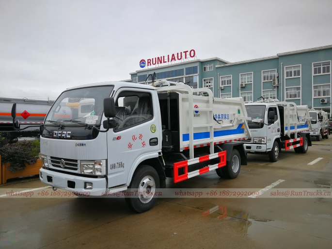 China Dongfeng 5 cbm Side Loading Hydraulic Hanging Bucket garbage truck 01.jpg