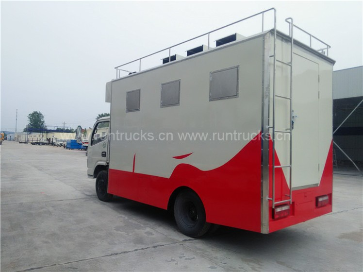 China Dongfeng food truck food vehicle food van truck  04.jpg