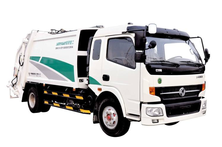China dongfeng kaipute 5000L compactor garbage truck.jpg