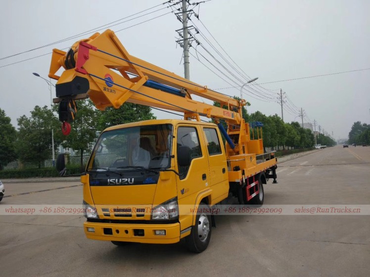 China Isuzu 18m high aerial working platform vehicle 01.jpg
