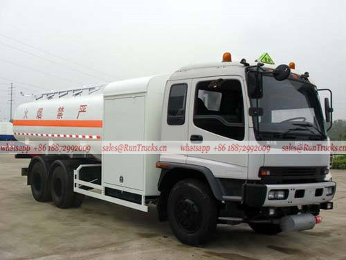 China Isuzu aircraft fuel refueling tank truck