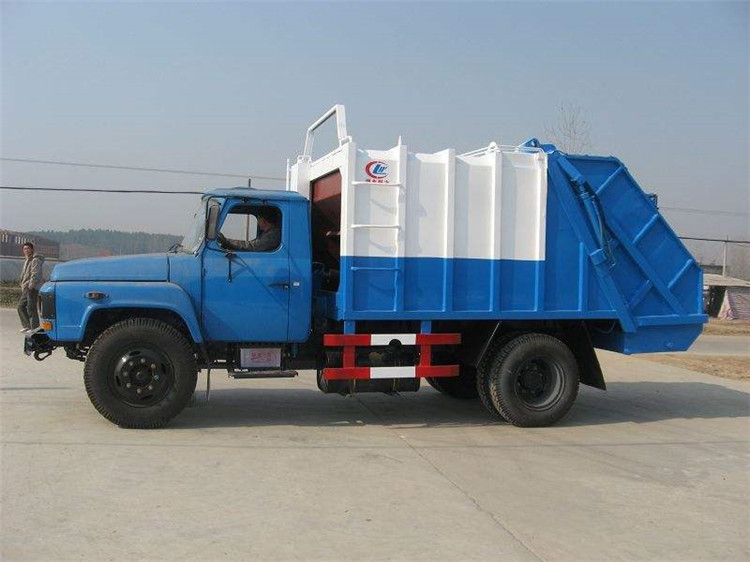 China old style 6000L compactor garbage truck