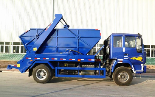 China-Sinotruk-HOWO-12m3-10-Ton-Swing-Arm-Type-Dump-Garbage-Refuse-Collector-Truck