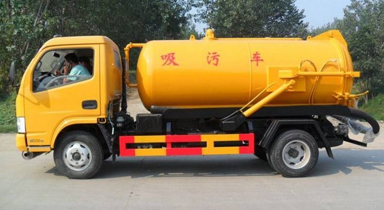 Dongfeng 3000L Vacuum Sewage Suction Truck for Sale.jpg