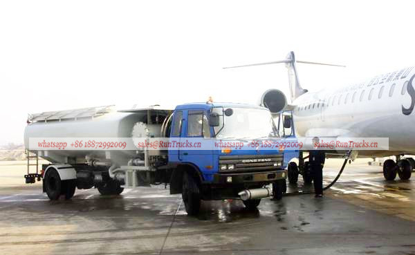 Dongfeng classical 145 aircraft fuel refueling tank truck