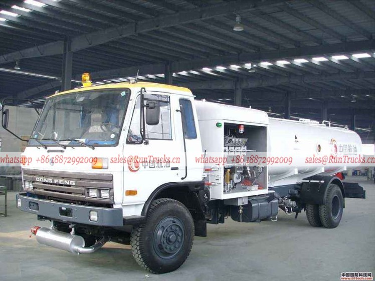 Dongfeng classical aircraft fuel refueling tank truck