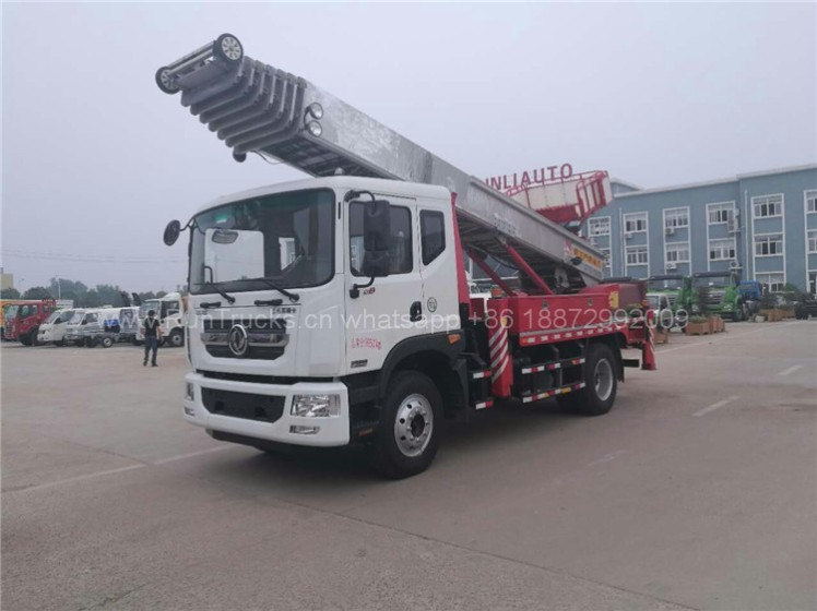 Dongfeng D9 High Altitude working platform truck 02.jpg