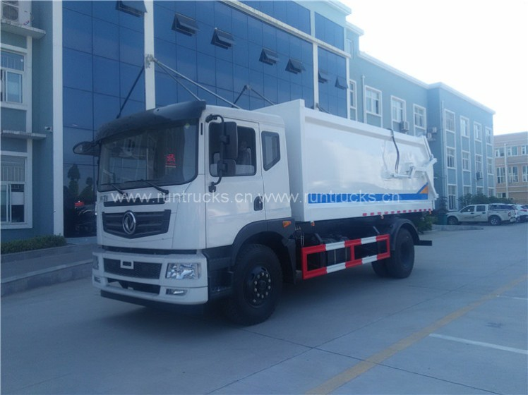 Dongfeng docking refuse collector garbage and Garbage Compactor Truck 06