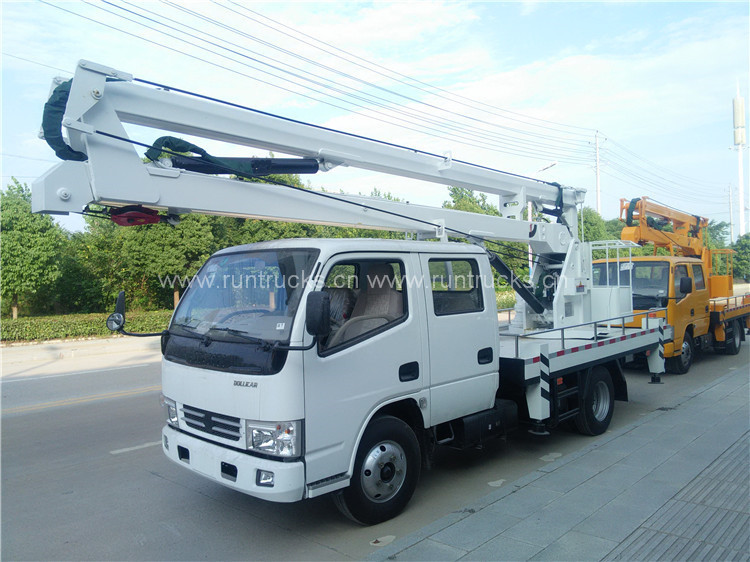 Dongfeng Duolika 12m 14m 16m High Altitude Working Truck02