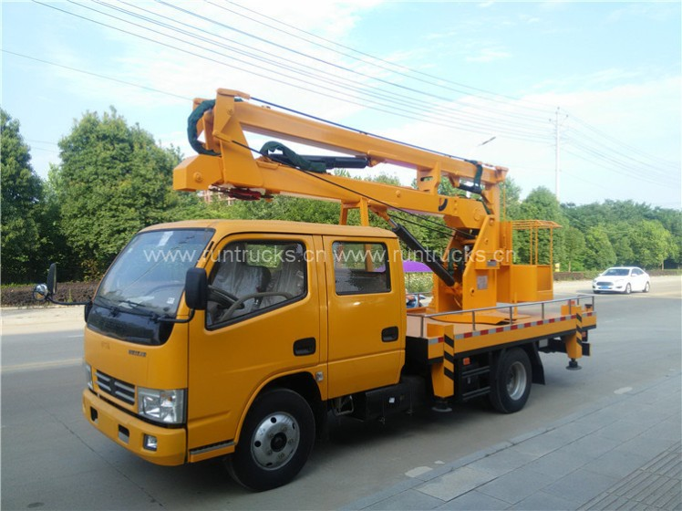 Dongfeng Duolika 12m 14m 16m High Altitude Working Truck07