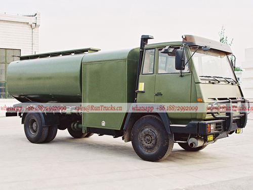 Dongfeng military aircraft fuel refueling tank truck