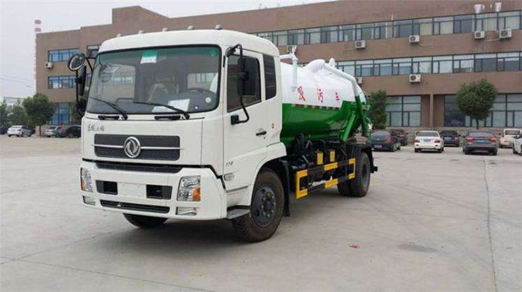 Dongfeng tianjin 8000L Vacuum Sewage Suction Truck for Sale.jpg