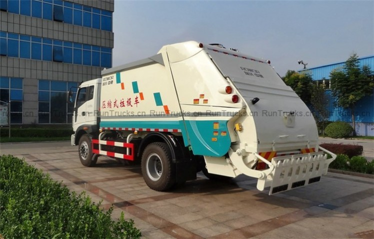 Foton 200 HP 4X2 compression type garbage truck05