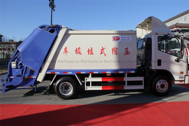 Foton Forland garbage compression and transportation truck 02.jpg