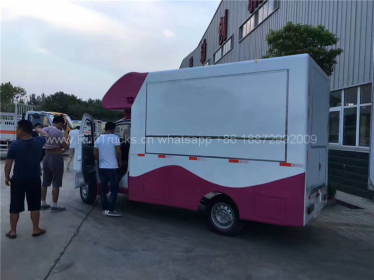 Foton mobile food vehicle for fast food 05