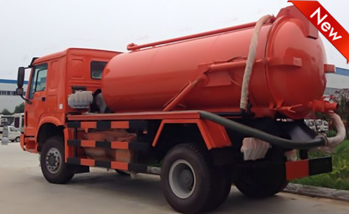 Howo 10cbm Waste Water Sewage Suction Truck 1 (3)