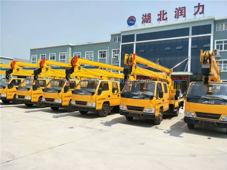 JMC-ISUZU technology 16 meters High-Altitude Working Platform Truck 02.jpg