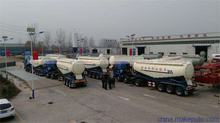 Wholesale of China bulk cement tank trailer truck with tractor head.jpg