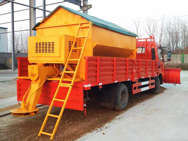 Dongfeng duolika truck mounted 3m snow plow on the truck head