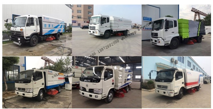 All chinese brands of Vacuum Road Sweeper Truck