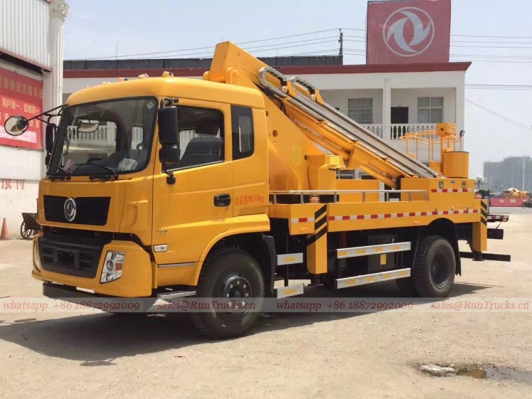 China dongfeng 22 m high aerial working platform truck 04