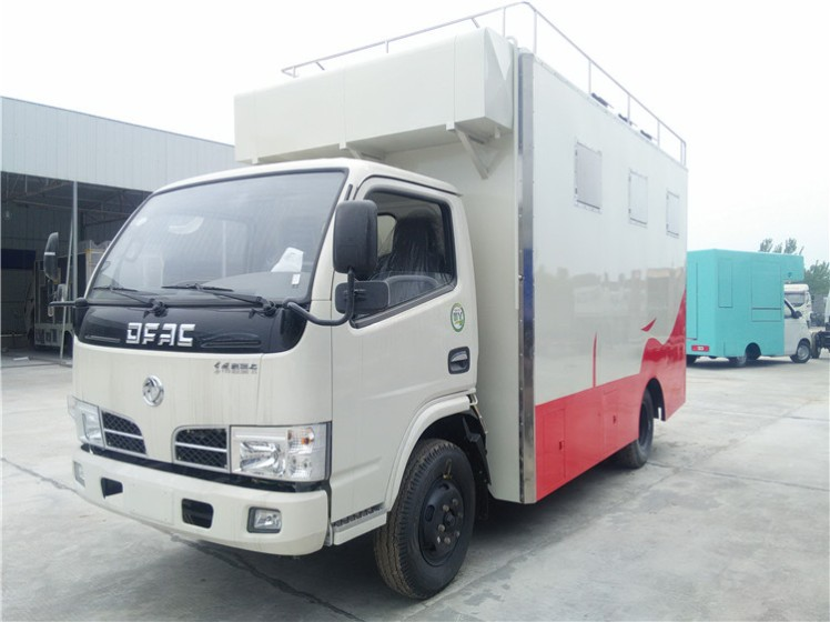 China Dongfeng food truck food vehicle food van truck  03.jpg
