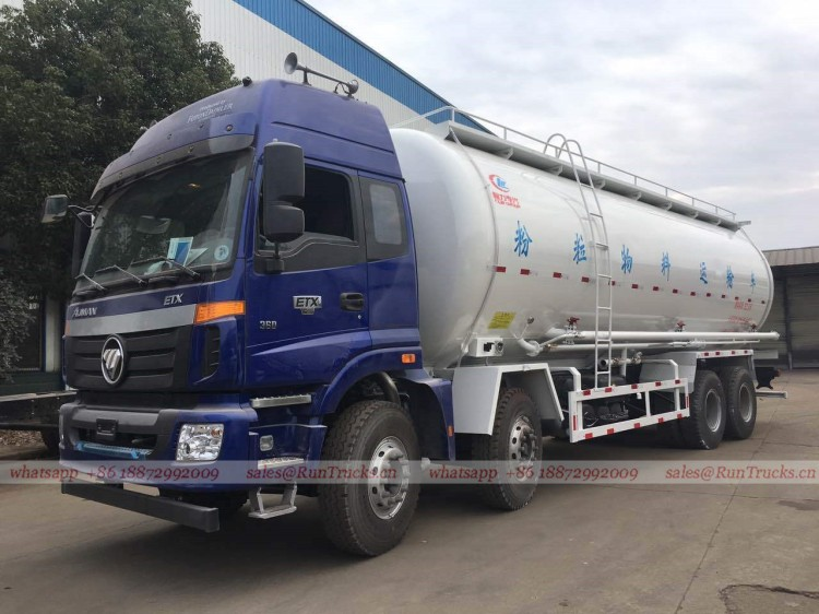 China Foton 35 cbm bulk cement transportation truck 01.jpg