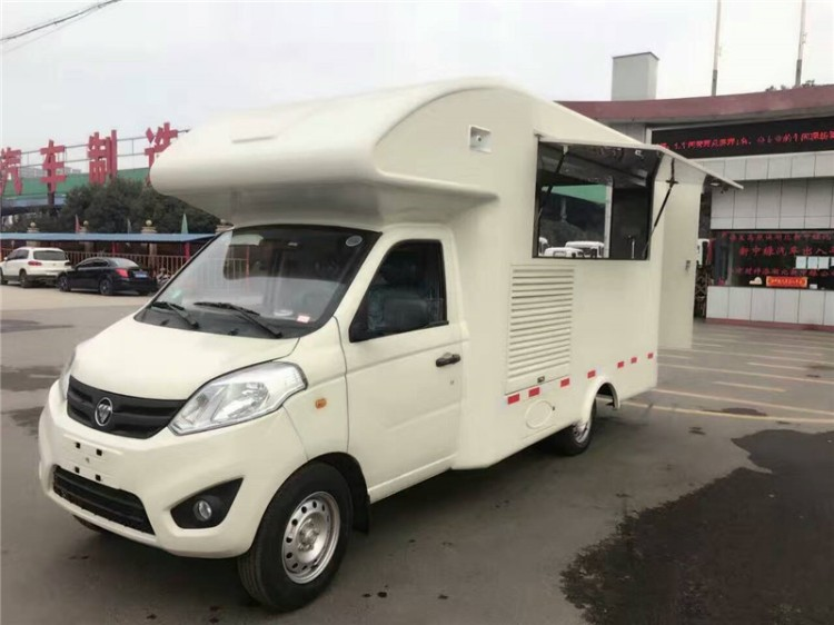 China Foton mobile canteen vehicle with all canteen equipment 01