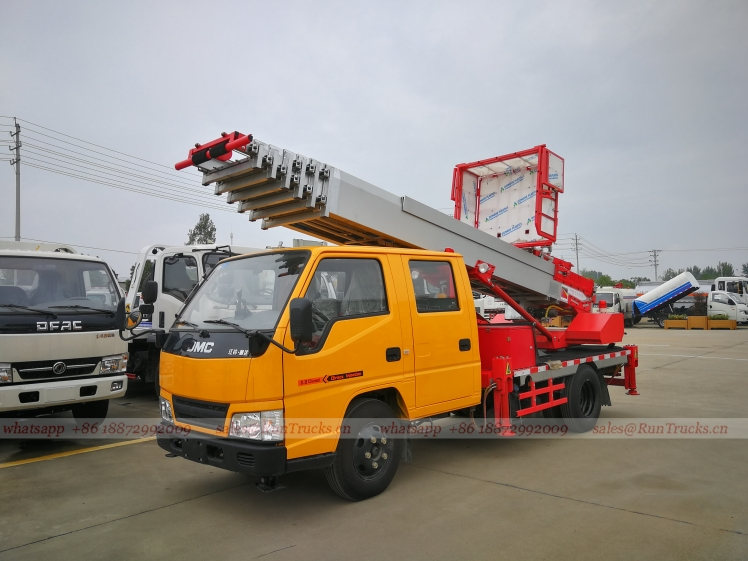 China JMC 28m high working and goods up down moving truck 01.jpg