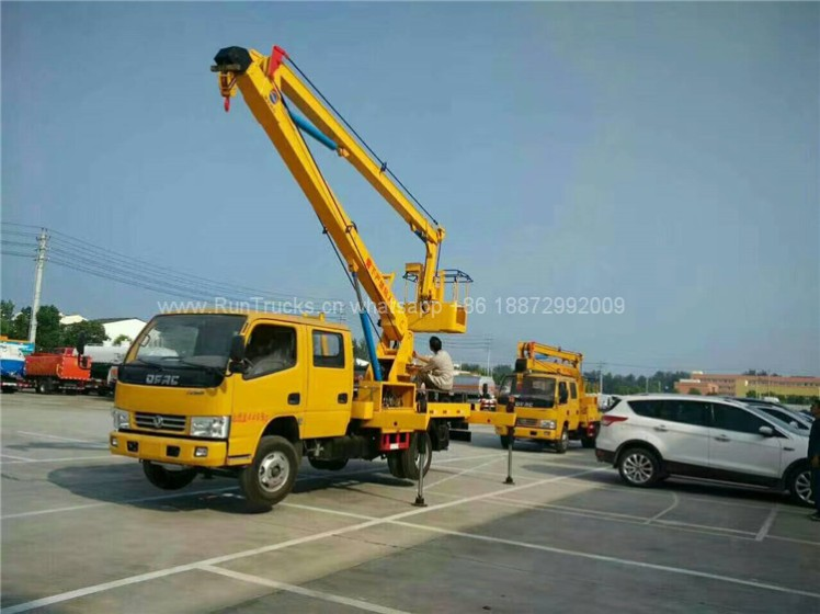 Dongfeng 12m High Aerial Working Platform Truck 05
