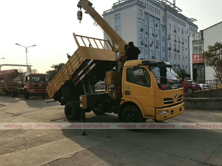 Dongfeng truck with 5 tons crane 01.jpg