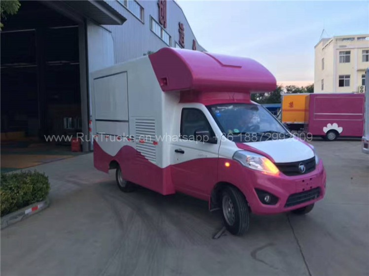 Foton mobile food vehicle for fast food 06