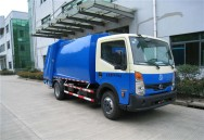 Nissan 6000 L compactor garbage truck