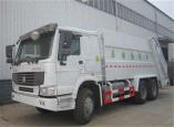 Sinotruk howo 12 000L compactor garbage truck