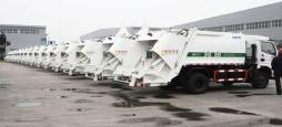wholesale of China dongfeng 6000L compactor garbage truck