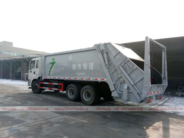 China dongfeng 25T 20cbm compactor garbage truck 03