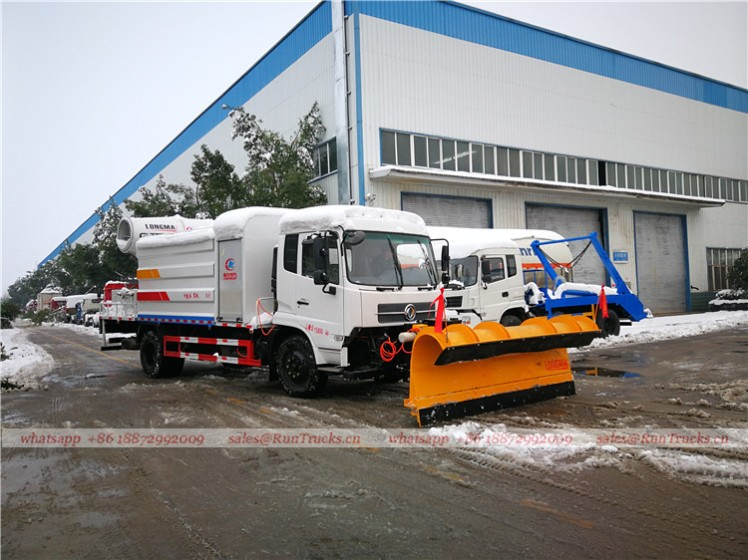 China water fog cannon truck with snow shovel working video 03.jpg