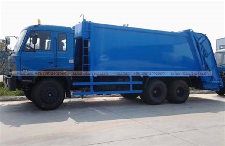dongfeng 25T garbage compactor truck 03