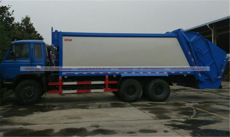 dongfeng 25T garbage compactor truck 06