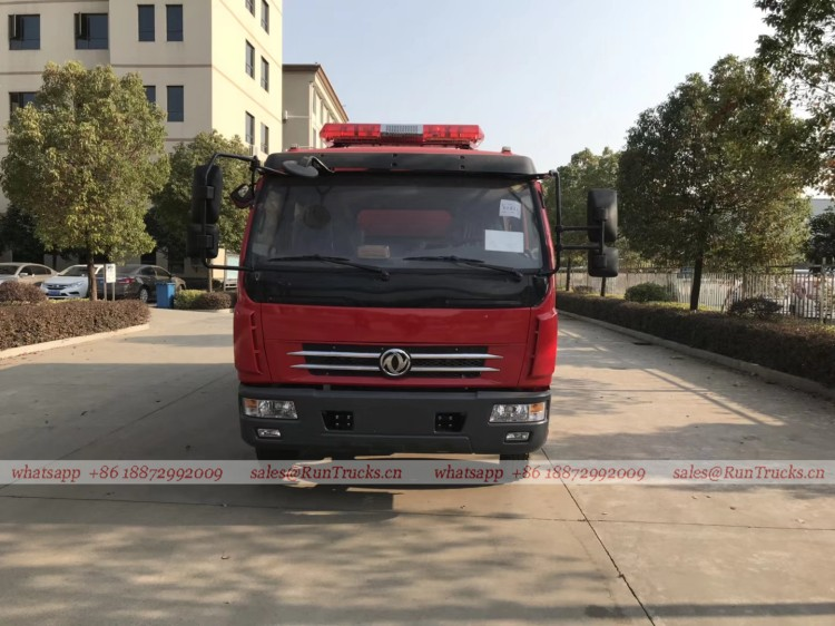 dongfeng 4 cbm water fire fighting truck 02