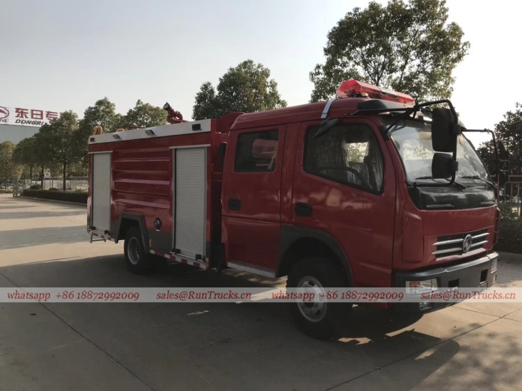 dongfeng 4 cbm water fire fighting truck 03